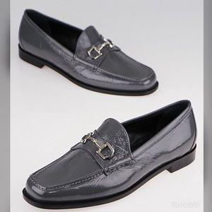 Gucci Melange Platinum Grey Horsebit Loafer